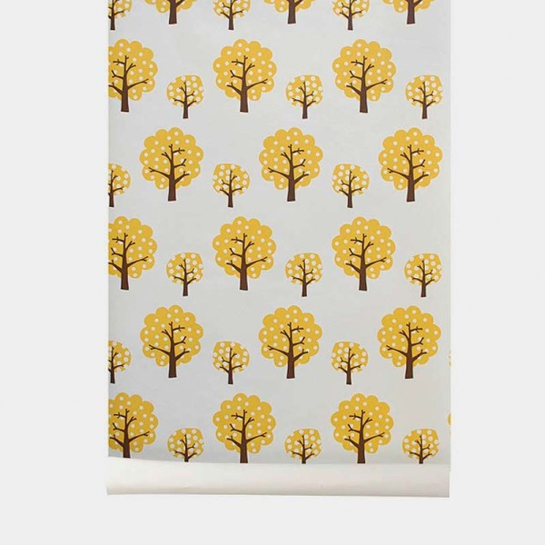 papeles_fermliving_tree_yelow_cyckids