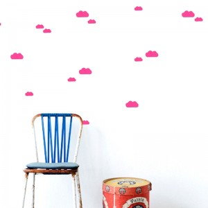stickers de nubes ferm living